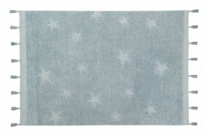 ecarpets Lorena canals hippy stars aqua blue