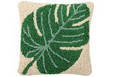 ecarpets Lorena canals cushion monstera 38x38