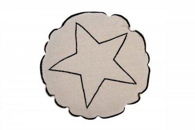 ecarpets Lorena canals cushion round star