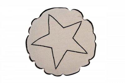 ecarpets Lorena canals cushion round star 40x40
