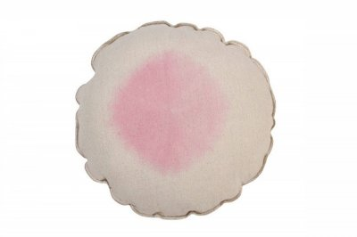 ecarpets Lorena canals cushion tie dye pink 40x40