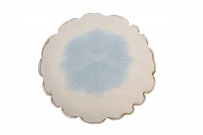 ecarpets Lorena canals cushion tie dye soft blue