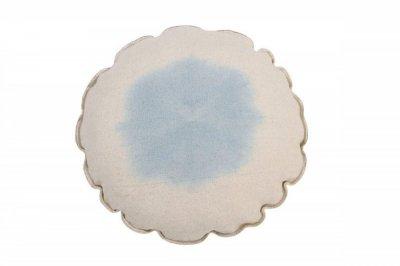 ecarpets Lorena canals cushion tie dye soft blue 40x40