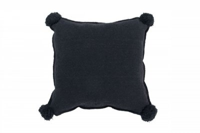 ecarpets Lorena canals cushion square black