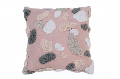 ecarpets Lorena canals cushion terrazzo rose quartz