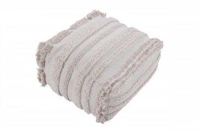 ecarpets Lorena canals cushion pouffe air natural