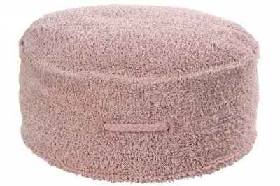 ecarpets Lorena canals cushion pouffe chill vintage nude