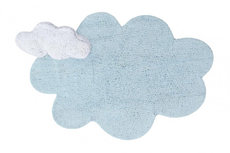 ecarpets Lorena canals puffy dream blue