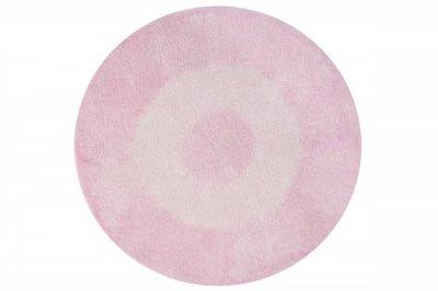 ecarpets Lorena canals tie-dye pink round