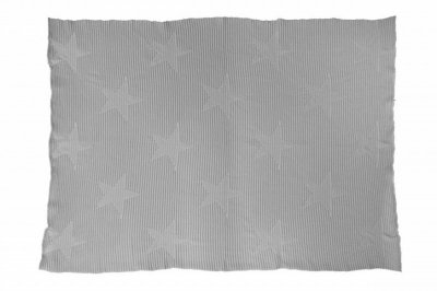 ecarpets Lorena canals knitted baby blanket hippy stars pearl grey