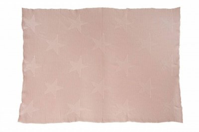 ecarpets Lorena canals knitted baby blanket hippy stars vintage nude