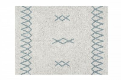 ecarpets Lorena canals atlas natural vintage blue