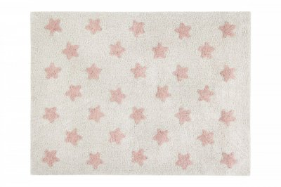 ecarpets Lorena canals stars natural vintage nude