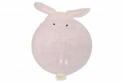 ecarpets Lorena canals wool rug chubby the bunny