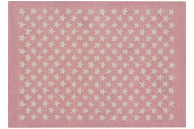 ecarpets Lorena canals wool rug little stars soft pink