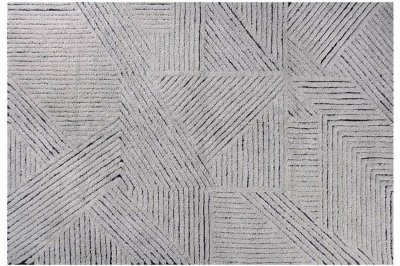 ecarpets Lorena canals woolable rug black chia