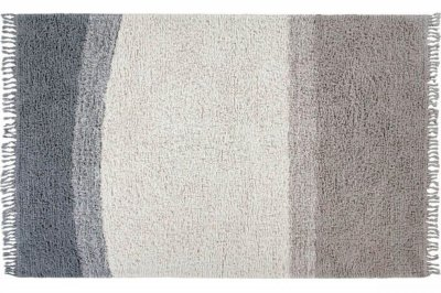 ecarpets Lorena canals woolable rug into the blue