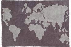 ecarpets Lorena canals mapamundi