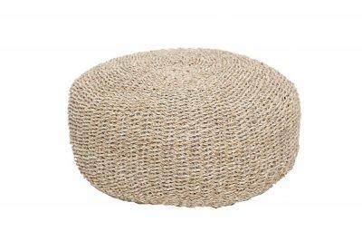 ecarpets Matera natural pouf