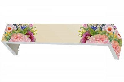 ecarpets Μετώπη  με εκτύπωση λουλούδια