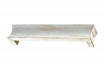 ecarpets Μετώπη αλουμινίου λευκό - χρυσό