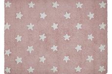 ecarpets Lorena canals pink stars white