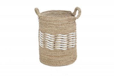 ecarpets Rieta basket with handles large Ø38x58