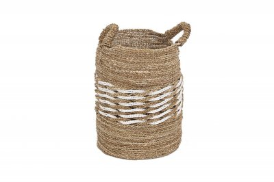 ecarpets Rieta basket with handles medium Ø35x54