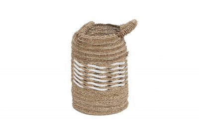 ecarpets Rieta basket with handles small Ø32x48