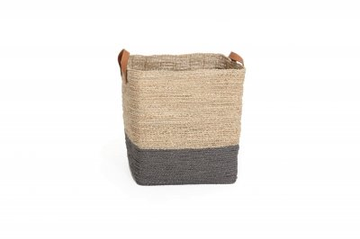 ecarpets Seagrass basket square with handles big