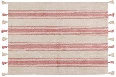ecarpets Lorena canals stripes coral pink