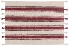 ecarpets Lorena canals stripes marsala