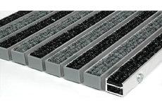 ecarpets Ταπέτα αλουμινίου 14mm με μοκέτα