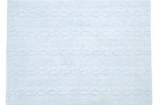 ecarpets Lorena canals trenzas soft blue